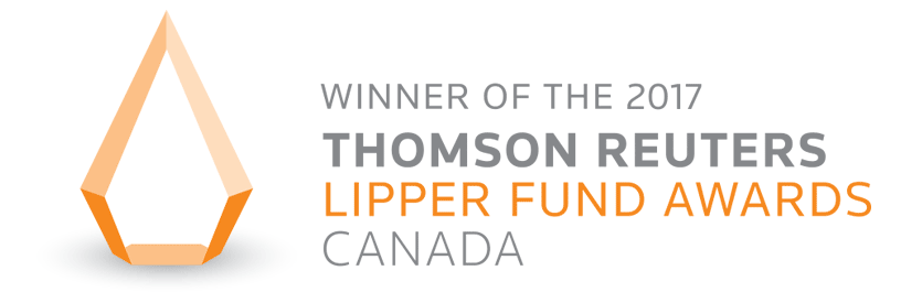 Winner of the 2017 Thomson Reuters Lippr fund awards, Canada
